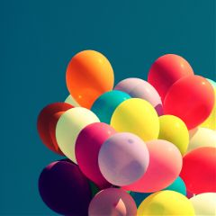 colorful photography spring balloon