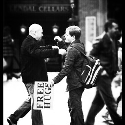 people places emotions love black & white photostory