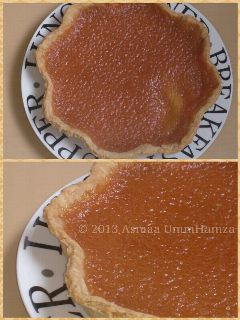 food treacle tart collage british