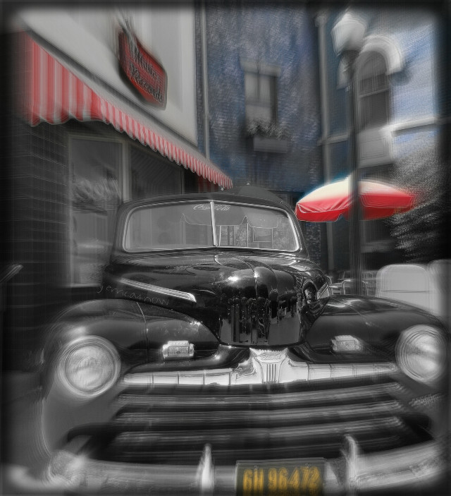 """'46 Ford Convertible featured in the """"Back to the Future""""  (@Universal Studios Hollywood)"""