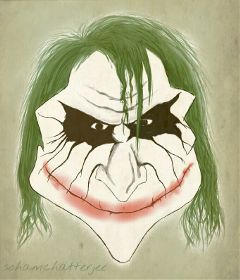 dccaricature drawing evil