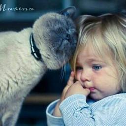 cute baby love pets & animals photostory