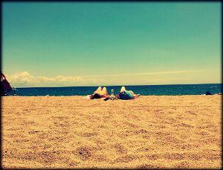 lloret de mar beach travel water summer sky