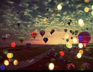 photography emotions nature people colorful balloon